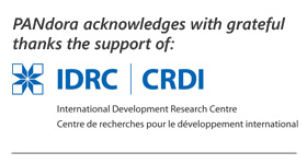 PANdora acknowledges with grateful thanks the support of IDRC